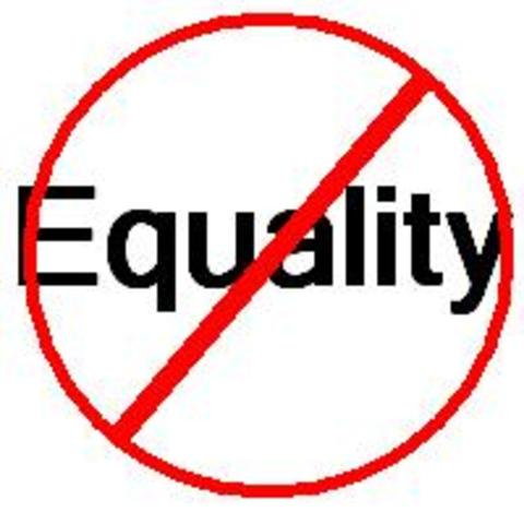 Where did all the Equality go?