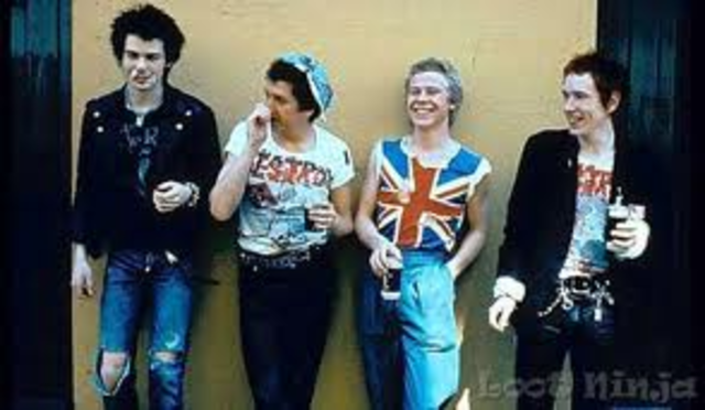 The Sex Pistols Form in the United Kingdom