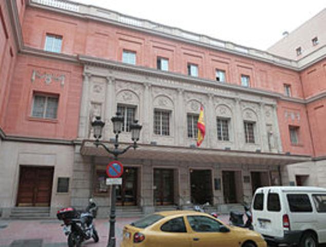 Inauguración del Teatro de la Zarzuela