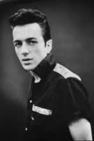 John Graham Mellor (Joe Strummer (the lead singer of The Clash died))