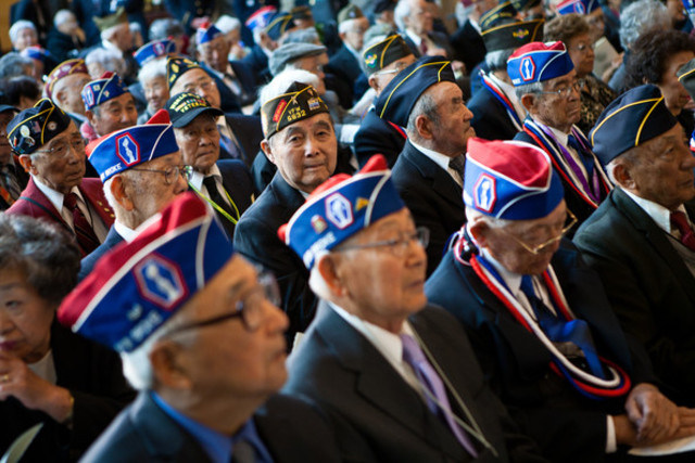World War II Asian American Veterans Granted Citizenship