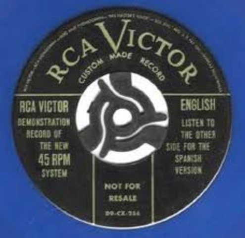 45 rpm introduced
