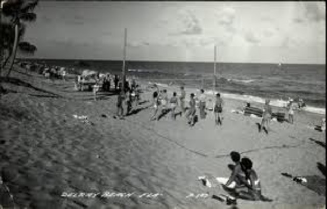 The First Beach Game