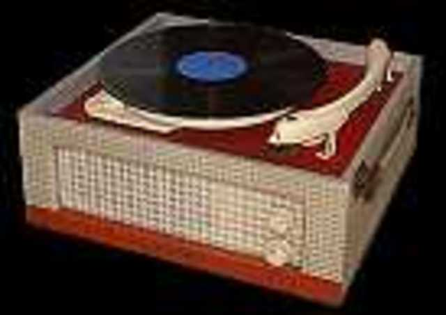 1st Record Player