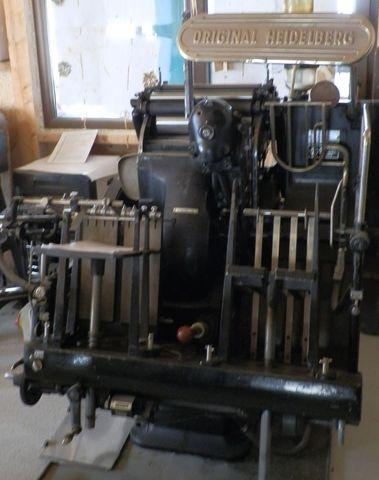 Maşina de tipărit cu aburi