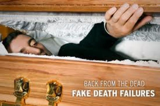 Juliet fakes death
