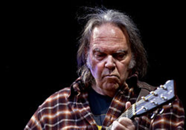 Neil Young's video banned