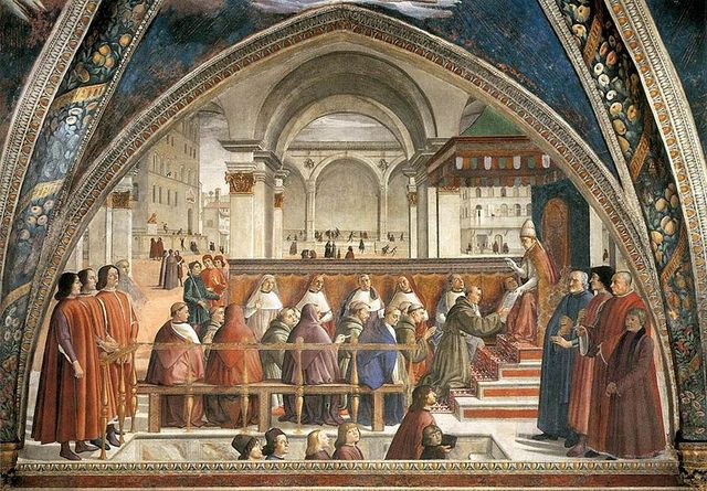 Francis of Assisi founds the Franciscan friars