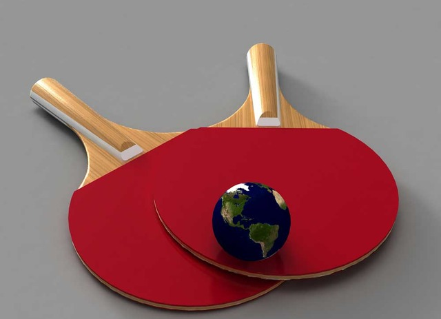 Table Tennis In The World