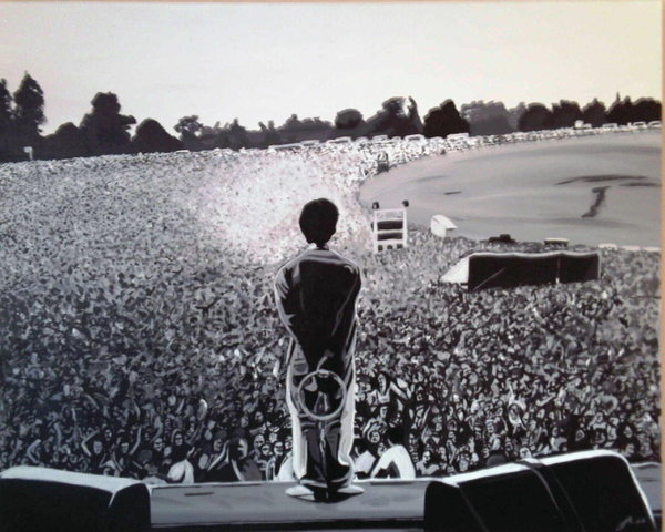 Oasis Performed At Knebworth