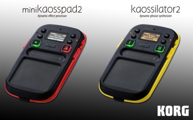 Korg Mini Kaosspad 2 & Kaossiltor 2