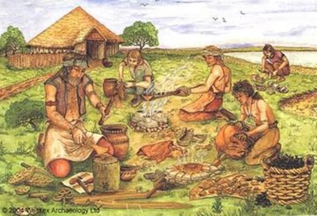 Los pueblos primitivos teor a general del proceso for Herramientas ceramica artesanal