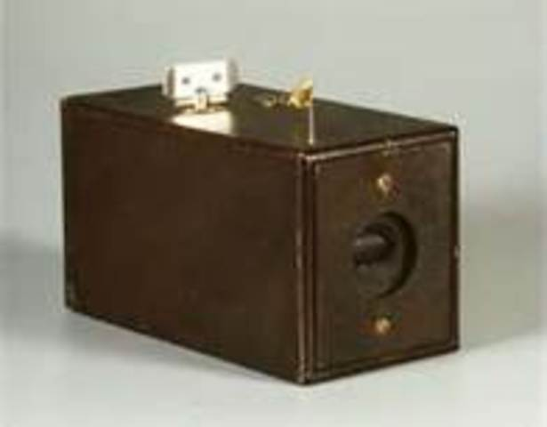 Kodak roll-film camera