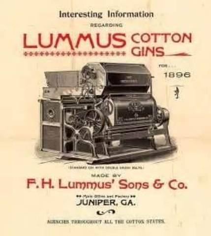 Lummus Cotton Gin