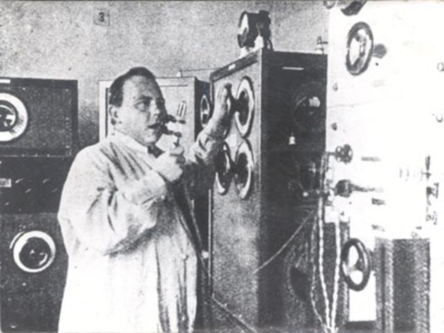 first regular radio broadcast