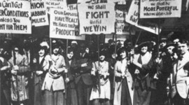 The Labor Movement From 1900-1939 timeline