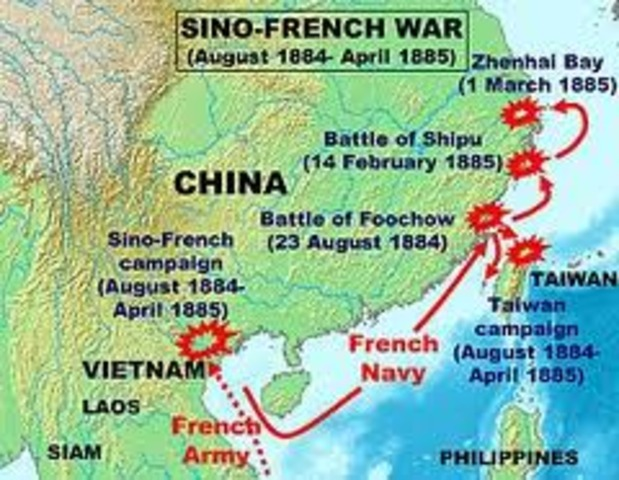 the sino french war
