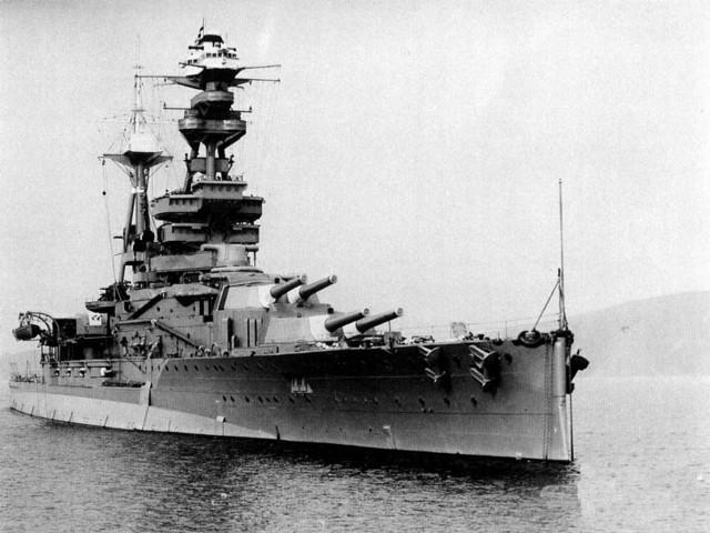 German U-boat sink HMS Royal