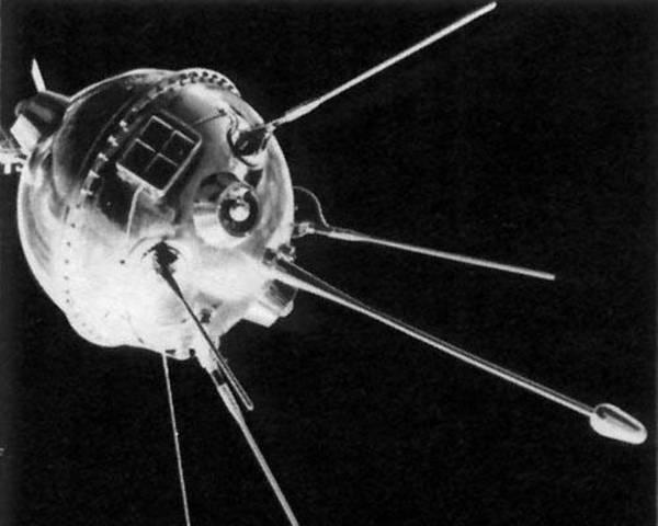 USSR launches Luna 1