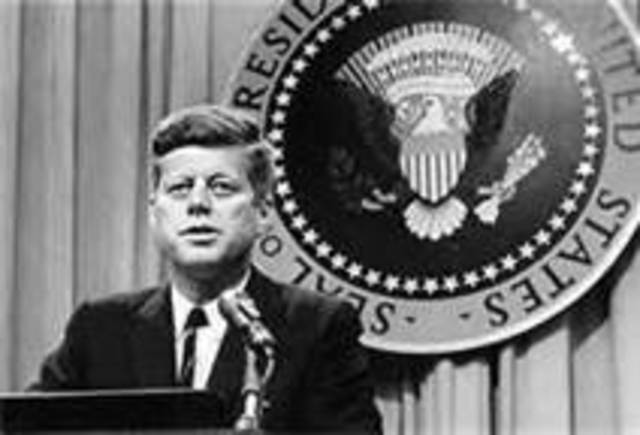 John F. Kennedy elected 35th president