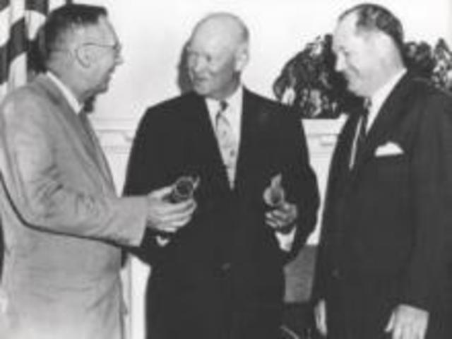 President Eisenhower and Congress take action in the Space Race