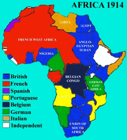 Scramble For Africa timeline | Timetoast timelines