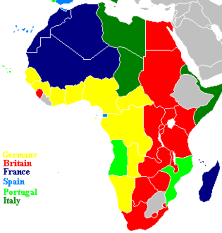 scramble for africa The scramble for africa is a term which refers to the rapid division and colonization of the african continent, largely taking place between the years 1880 and 1913.