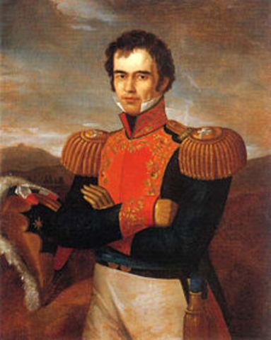 Guadalupe Victoria (José Miguel Ramón Adaucto Fernández y Félix)  1824-1829