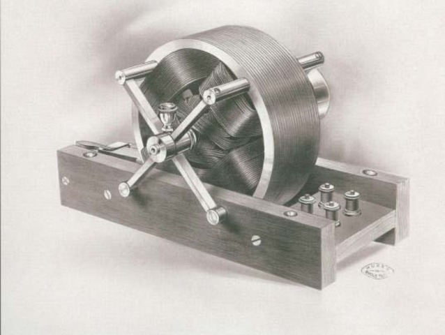 Nikola Tesla Patents For Induction Motor and an Alternating Current System