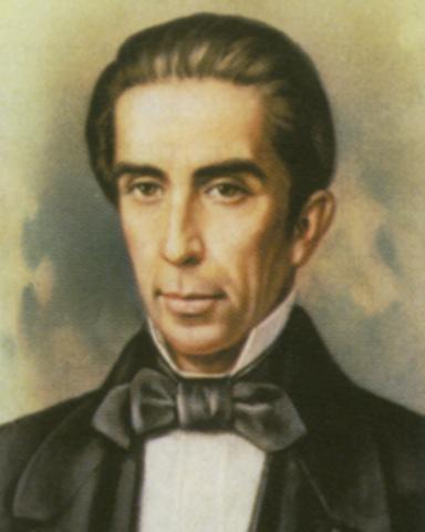Francisco Javier Echeverría 1841