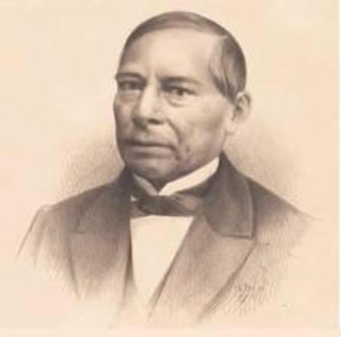 Benito Juárez 1858- 1872