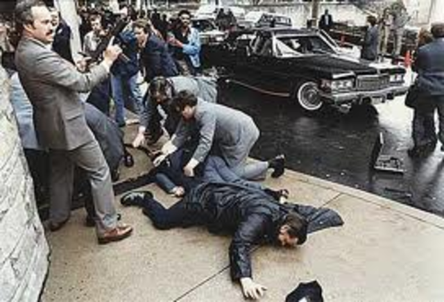 Ronald Reagan Attempted Assassination