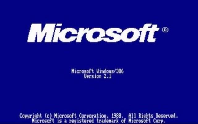 Microsoft Windows 2.10