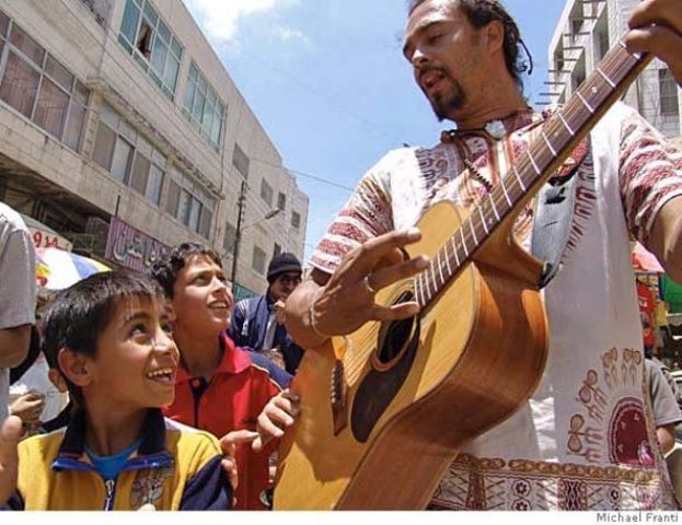 Michael Franti goes to Middle Eastern Countries