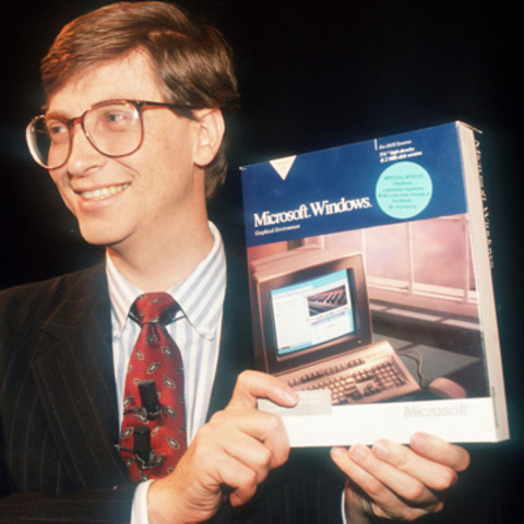 Bill Gates founded Microsoft