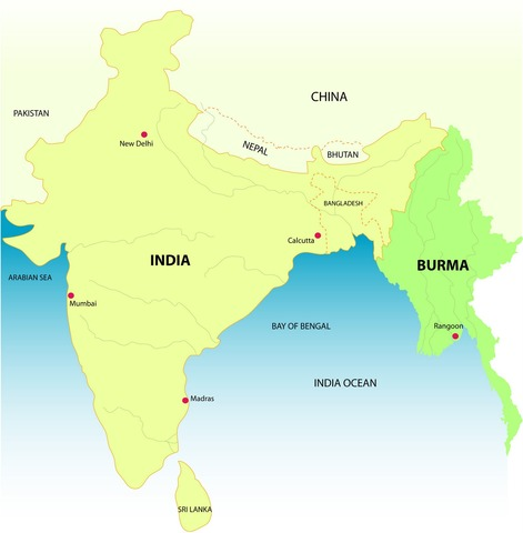 Burma seperated from India