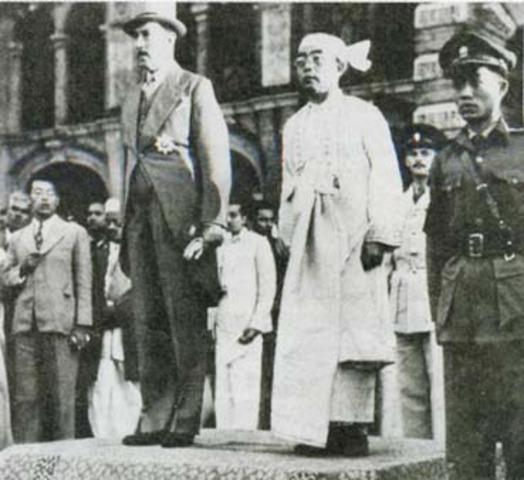 Independence of Burma