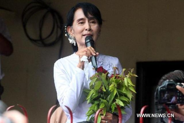 Aung San Suu Kyi Wins Election
