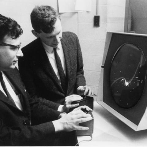 Steve Russell & MIT Spacewar Computer Game