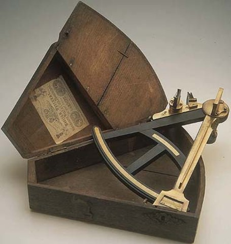 John Campbell Invents the Sextant