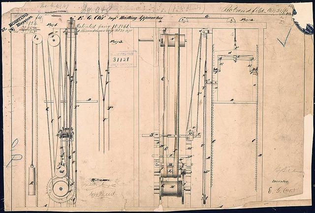 Joseph Dart's first elevator