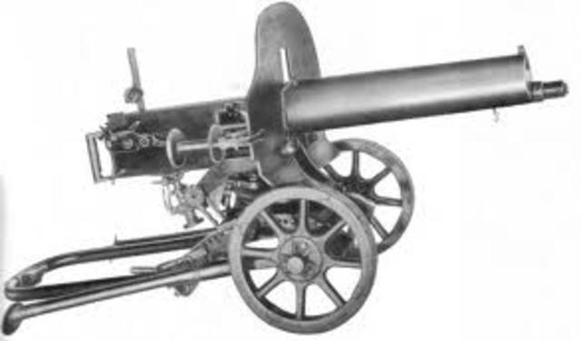 Richard Gatling Machine Gun