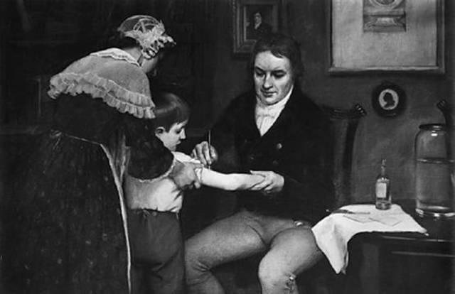 Edward Jenner Develops First Smallpox Vaccine