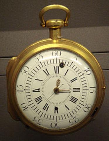 John Harrison Invents Navigational Clock or Marine Chronometer