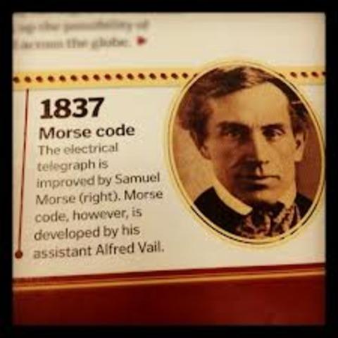 Morse Code invented
