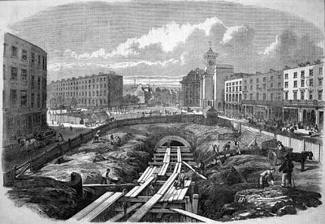Πρώτος υπόγειος σιδηρόδρομος