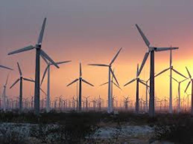 first wind turbines were created