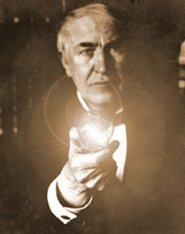 Thomas Edison invents the first reliable light bulb
