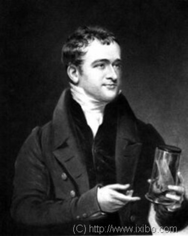English Scientist Humphry Davy invents the lightbulb