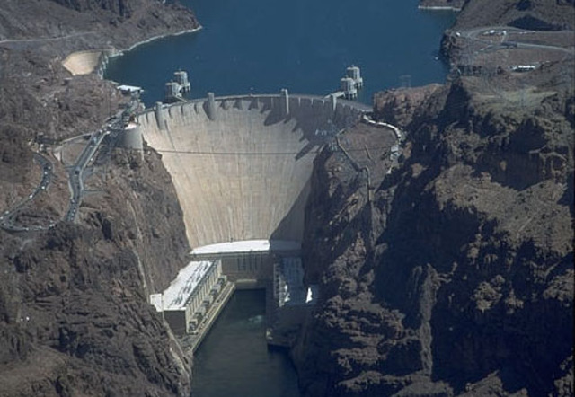 Hoover Dam is completed